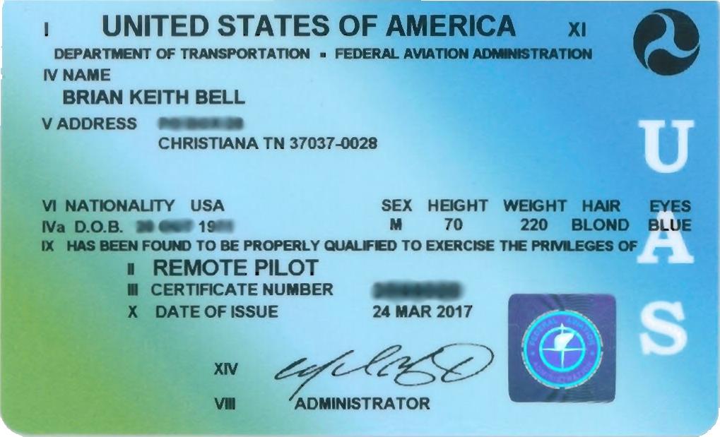 Remote Pilot Cert